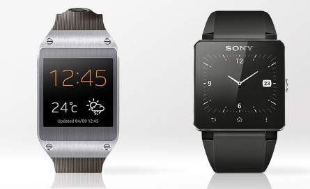 Samsung Galaxy Gear против Sony Smartwatch 2